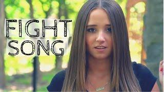 Fight Song - Rachel Platten (Cover by Ali Brustofski) Official Music Video w/ Lyrics