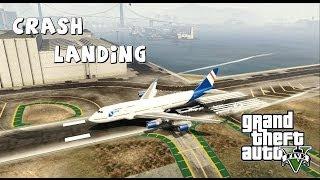getlinkyoutube.com-GTA V 747 Crash Landings #3