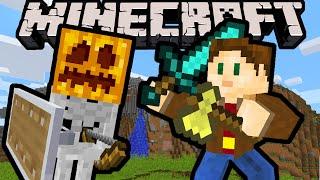 getlinkyoutube.com-Minecraft 1.9 Snapshot: Shield Reflect, Sword & Axe Buff, Gold Apple Nerf, Void Biome, Combat Update