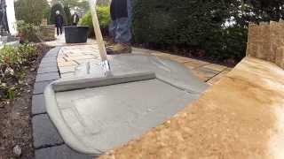 getlinkyoutube.com-Gartengestaltung mit dem wasserundurchlässigen tubag Pflasterfugenmörtel PFN