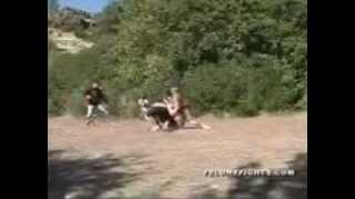 getlinkyoutube.com-4 Man Fight 1 Guy Left Wins