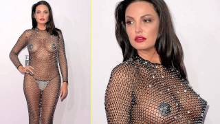 getlinkyoutube.com-AMA 2014 | Bleona Qereti Hot See Through With Nipple pasties