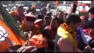 जोशिमठ पहुंची भाजपा की परिवर्तन यात्रा, उमा भारती ने कहा नेताओं की बढ़ गयी हैं दिक्कतें