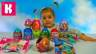 getlinkyoutube.com-Игрушки сюрпризы в яйцах и пакетиках Барби Герои из Дисней unboxing surprise toys & blind bags