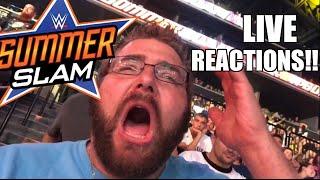 getlinkyoutube.com-WWE SUMMERSLAM 2016 LIVE ARENA REACTIONS! UNIVERSAL CHAMPIONSHIP! BROCK LESNAR!