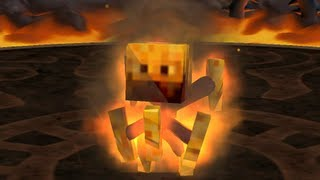 Minecrafteitor, the first Minecraft creature in Spore