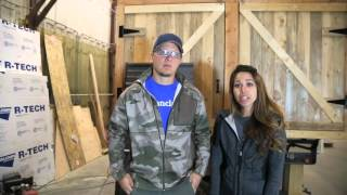 getlinkyoutube.com-How to Install Metal Roofing on a Tiny Home: Ana White Tiny House Build [Episode 6]