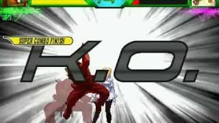 getlinkyoutube.com-Capcom VS SNK W Mugen All Level 3 Supers