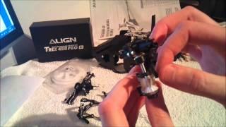getlinkyoutube.com-Align T-Rex 450 Pro Build Part 1