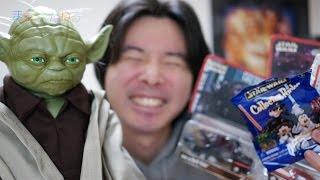 祝!スターウォーズイヤー!超リアルなヨーダとその他アメリカで買ってきたグッズ! STAR WARS YEAR Real Yoda USE THE FORCE!! CARS Mater  Doc