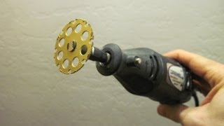 getlinkyoutube.com-Dremel EZ Lock Wood Cutting Wheel #544