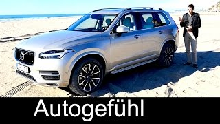 getlinkyoutube.com-Documentary all-new Volvo XC90 2016 FULL test drive REVIEW T8 & T6 Inscription D5 Momentum
