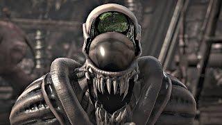 getlinkyoutube.com-Mortal Kombat X - All Fatalities on Alien