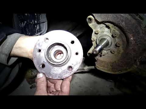 Как заменить задний подшипник ступицы на Renault Espace 2