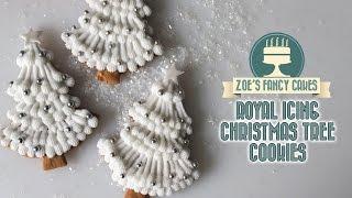 getlinkyoutube.com-Royal icing christmas tree cookies