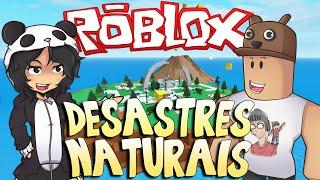 getlinkyoutube.com-Roblox - SOBREVIVENDO AOS DESASTRES NATURAIS. (Ft. Godenot)