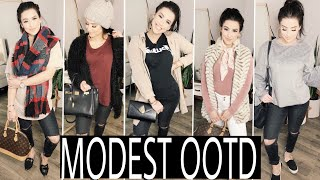 CUTE & MODEST OUTFITS | TIPS