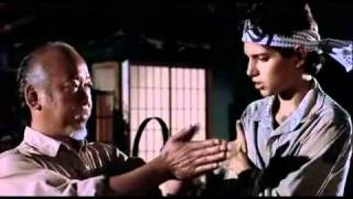 miyagi reiki from the karate kid 1984 columbia pictures youtube - The Karate Kid Halloween Fight
