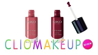 getlinkyoutube.com-REVIEW RECENSIONE ROSSETTI KIKO MATTE MUSE LIPSTICK