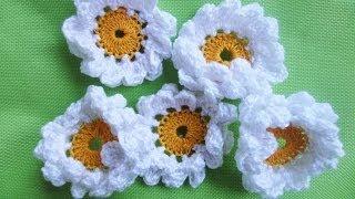 getlinkyoutube.com-Двухъярусная РОМАШКА CAMOMILE Crochet