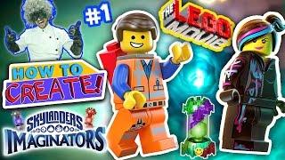 getlinkyoutube.com-SKYLANDERS IMAGINATORS CREATION of LEGO EMMET & WYLDSTYLE LEGO MOVIE Game (How to Create Recipe #1)