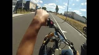 getlinkyoutube.com-Lifan 125cc 4 speed motorised drift trike