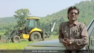 Construction & Earth Moving Equipment - Backhoe Loader India | Mahindra EarthMaster Success Story