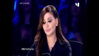 getlinkyoutube.com-بالفيديو اليسا تغضب دنيا سمير غانم في اكس فاكتور