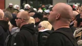 getlinkyoutube.com-Neonazis gegen Linke: Konfrontation nach Brandanschlag