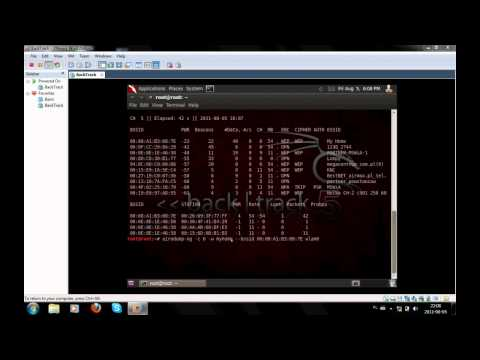 Hacking wifi WPA/WPA BackTrack 5