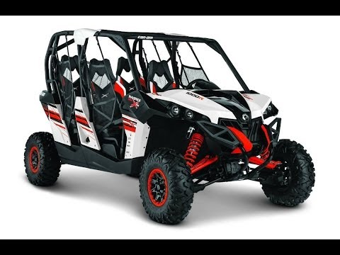 2014 Can-Am Maverick Max 1000R X rs DPS Side By Side UTV Walk-Around