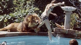 ライオンをペットにしていた14歳少女の生活が凄いと話題に