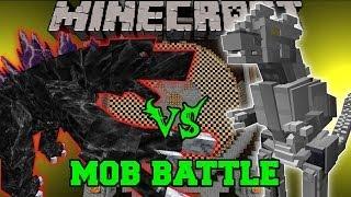 getlinkyoutube.com-MOBZILLA VS MECHAGODZILLA (KIRYU) - Minecraft Mob Battles - OreSpawn and Godzilla Mods