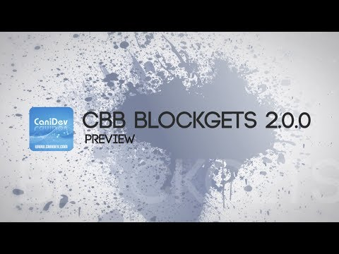 (Preview) cBB Blockgets 2.0.0