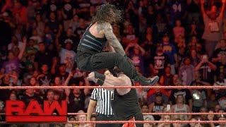 getlinkyoutube.com-Roman Reigns vs. Kevin Owens: Raw, Sept. 12, 2016
