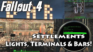getlinkyoutube.com-Fallout 4: Settlement Bar with Light Box Sign! (Tutorial included!)