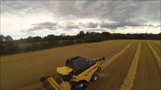 Country Crest's 2 New Holland CX8090 SmartTrax Combines