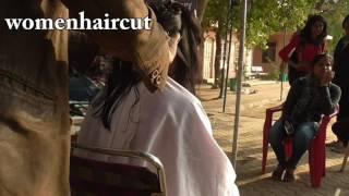 Chop Chop Hair in Open Air ( Back 2 Back 7 Haircut )