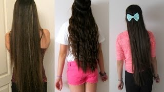 getlinkyoutube.com-How to Have Long Hair pt. 1 { My Haircare Routine}