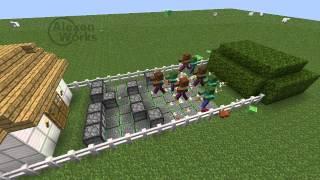 getlinkyoutube.com-Minecraft -Plants vs Zombies-