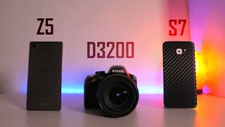 getlinkyoutube.com-Camera Comparison: Galaxy S7 vs. Xperia Z5 vs. Budget DSLR!