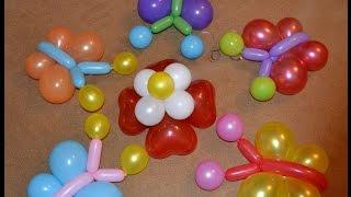 getlinkyoutube.com-Бабочка из воздушных шаров (Butterflies from Balloons)