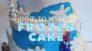 getlinkyoutube.com-DISNEY FROZEN CAKE: Easy and Looks Amazing, Step by Step.