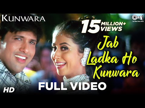 Kunwara (Govinda & Urmila) Jab Ladka Ho Kunwara (Full Song) Official - HQ