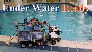 getlinkyoutube.com-Under Water Ready Lego Technic 42043 Mercedes-Benz Arocs 3245 MOD#12 in 4K resolution