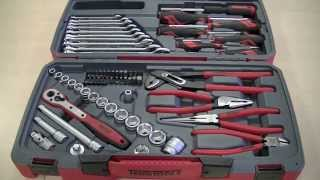 "getlinkyoutube.com-Teng Tools T3867 67 Piece 3/8"" Drive Screwdriver, Pliers & Socket Set Review"