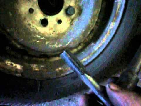Ремонт сорваной резьбы на ступици и полуоси ВАЗ 2101-099...