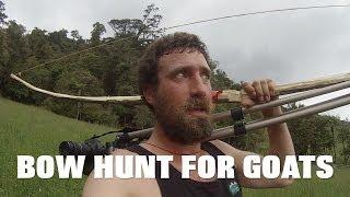 getlinkyoutube.com-bow hunting goats with home made longbow