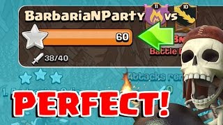getlinkyoutube.com-3 STAR EVERY BASE | Clash of Clans | How to get a Perfect War