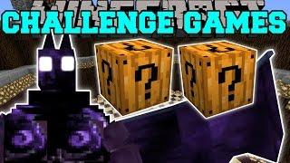 getlinkyoutube.com-Minecraft: DARK OPAL DEMON CHALLENGE GAMES - Lucky Block Mod - Modded Mini-Game
